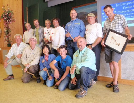 Tenkara convention participants