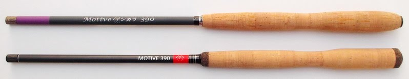 Motive 390 tenkara rods